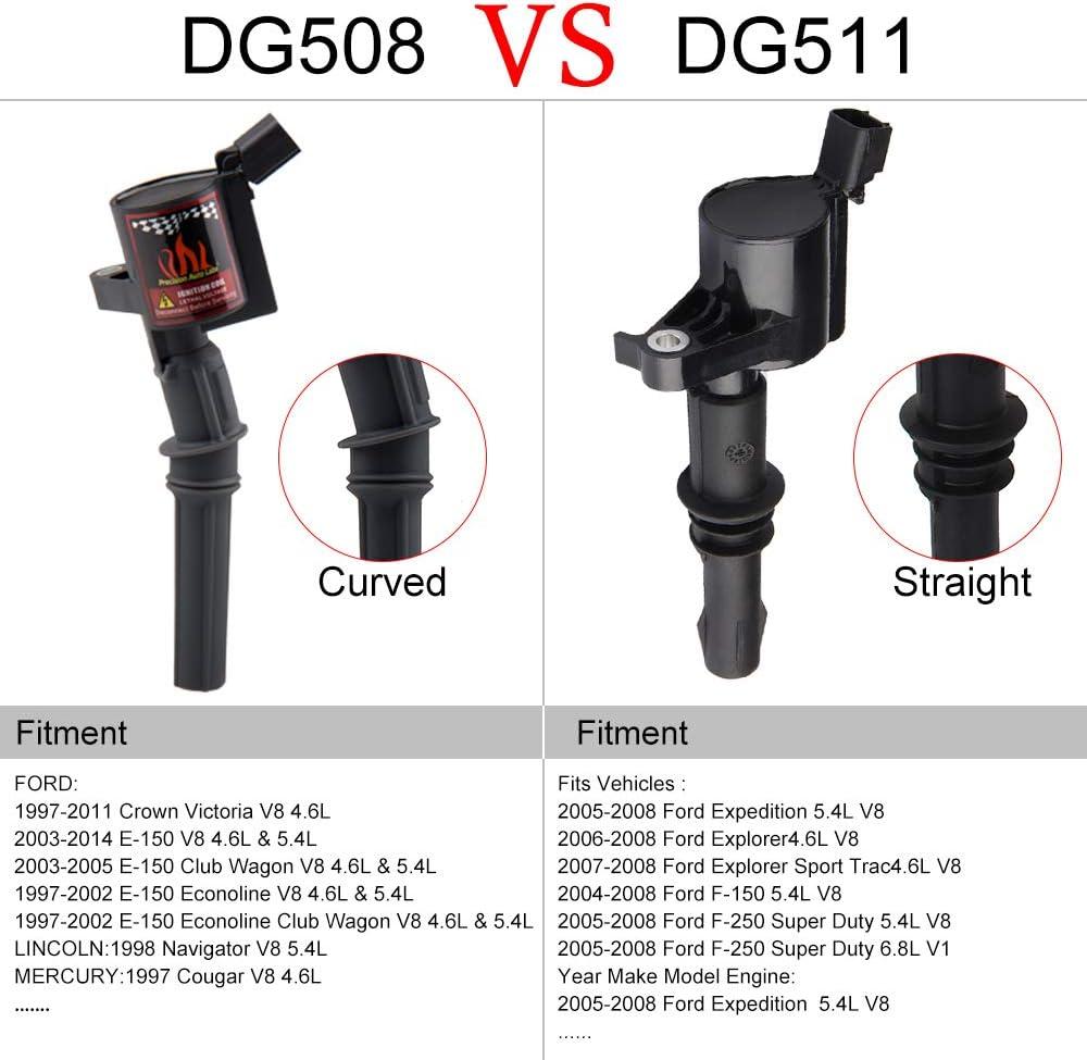 Ignition Coil fits Ford Lincoln Mercury 4.6L 5.4L 6.8L DG508 FD503 DG540