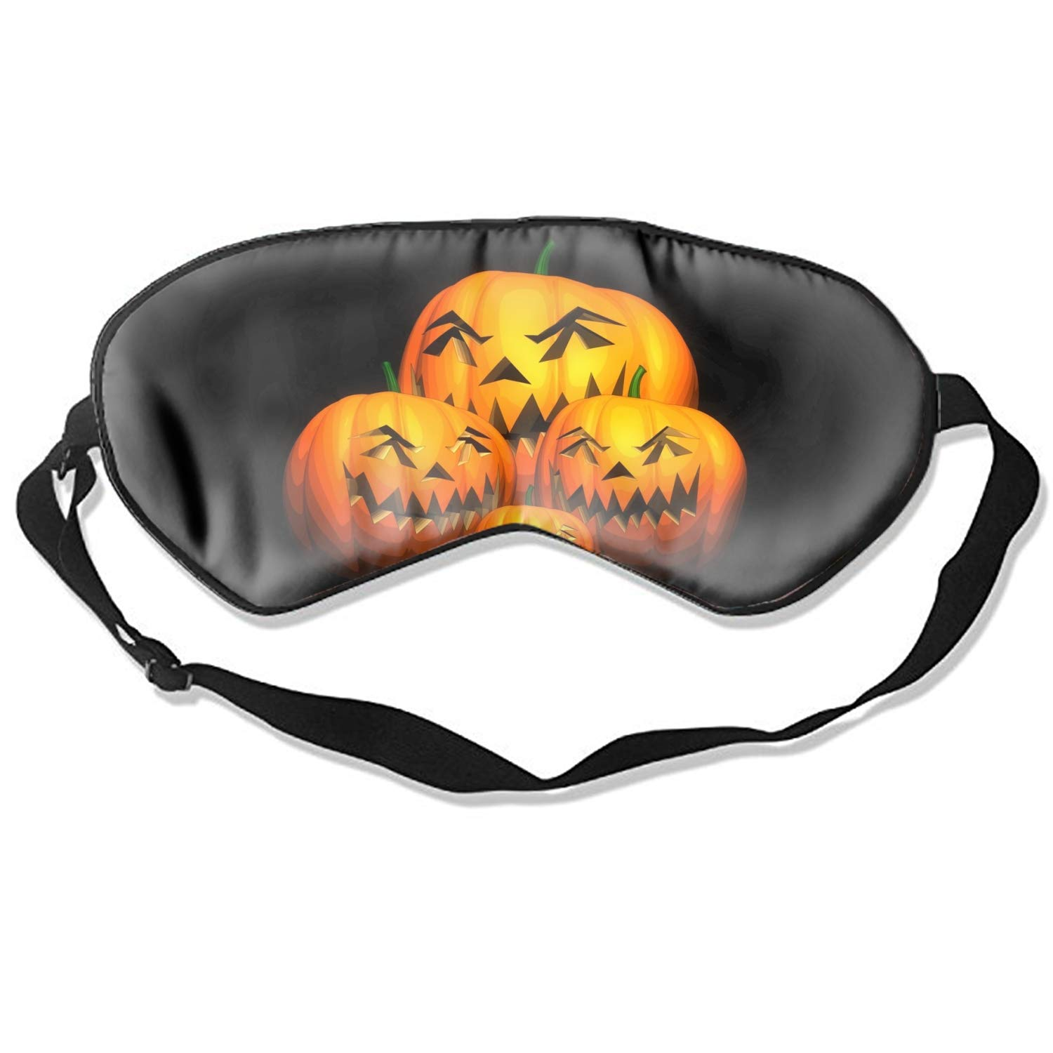 Amazon.com : Sleeping Eye Mask Art Print Natural Silk Eye Mask Cover With Adjustable Strap : Beauty
