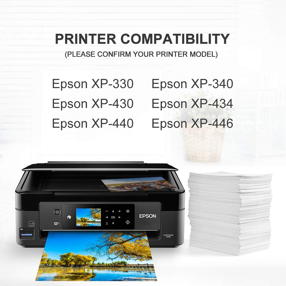 Valuetoner T288XL Replacement for Epson 288XL 288 XL Remanufactured Ink Cartridge for Epson Expression XP-340 XP-440 XP-330 XP-430 XP-434 XP-446 Printer(2 Black, 1 Cyan, 1 Magenta, 1 Yellow) by Valuetoner (Image #1)