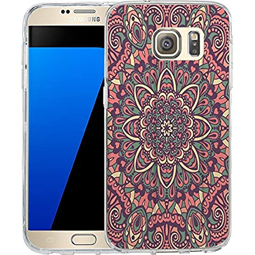S7 Case Aztec tribal Mayan pattern, LAACO Scratch Resistant TPU Gel Rubber Soft Skin Silicone Protective Case Sales