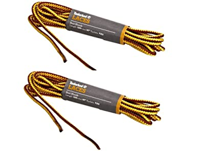 Timberland Brand Replacement Boot Shoe Laces 18 Cord 3mm (2 Pack) (47 120cm)