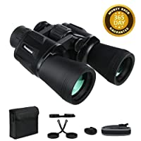 Deals on Famecame 20x50 Binoculars Professional Compact for Adults
