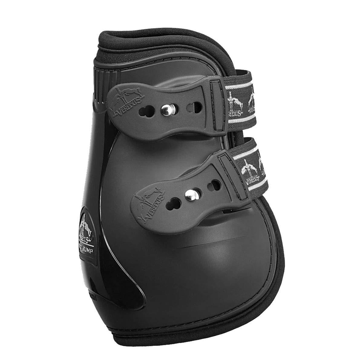 Veredus - Fetlock Pro Jump Vento Elastic - Horse Boots - Made in Italy - Black