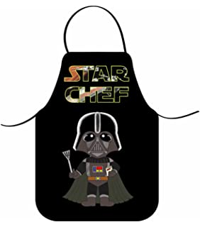 f6316fae46 Star Wars Darth Vader sono grembiule, nero: Amazon.it: Casa e cucina