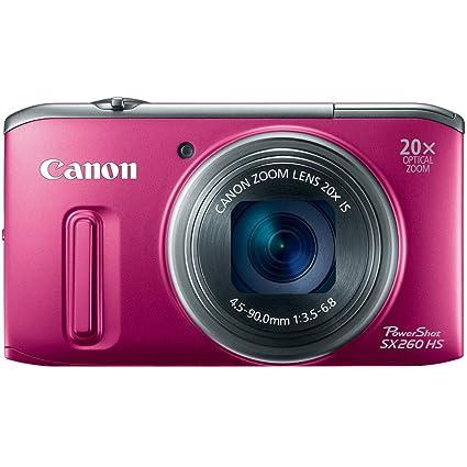 amazon com canon powershot sx260 hs 12 1 mp cmos digital camera rh amazon com canon powershot sx260 hs user guide Clip Art User Guide