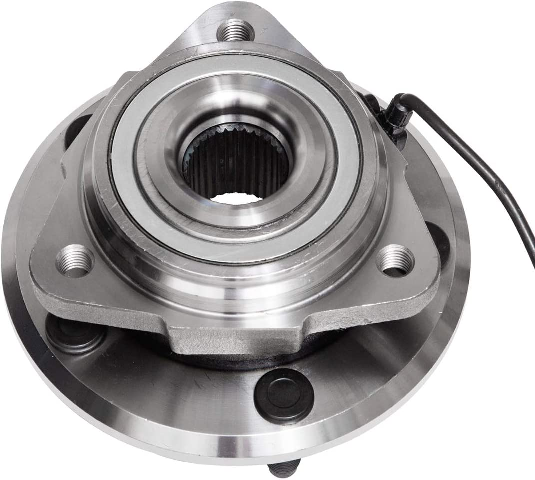 5 Lug W//ABS Front Wheel Hub and Bearing Assembly Compatible With 2007 08 09 2010 Jeep Wrangler JK AUQDD 513272