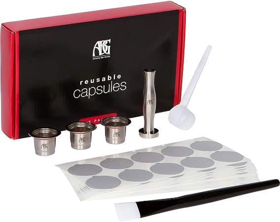 Amazon.com: Cápsulas reutilizables Nespresso, paquete de 3 ...