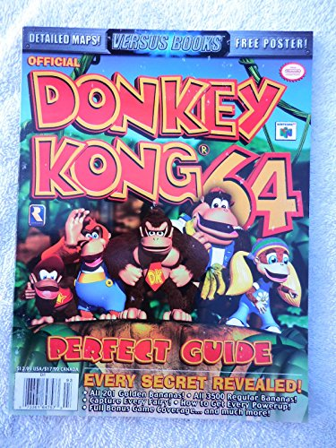 Price comparison product image Versus Books Donkey Kong 64 (Versus Books Perfect Guide)