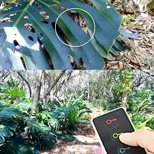 Key Finder, Esky Wireless RF Item Locator Item Tracker Support Remote Control,1 RF Transmitter and 4 Receivers Wireless Key RF Locator, Pet Tracker Wallet Tracker