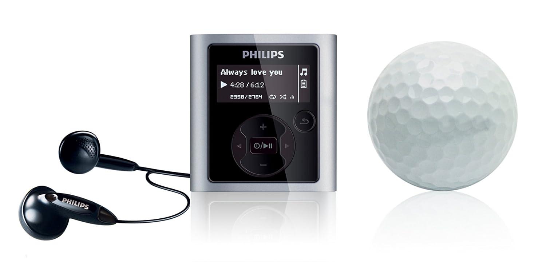 Philips GoGear Raga SA1942/02 4GB MP3 Player - Silver/Aluminium:  Amazon.co.uk: Audio & HiFi