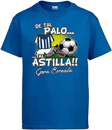 Diver Camisetas Camiseta De Tal Palo Tal Astilla Real Sociedad fútbol: Amazon.es: Ropa y accesorios