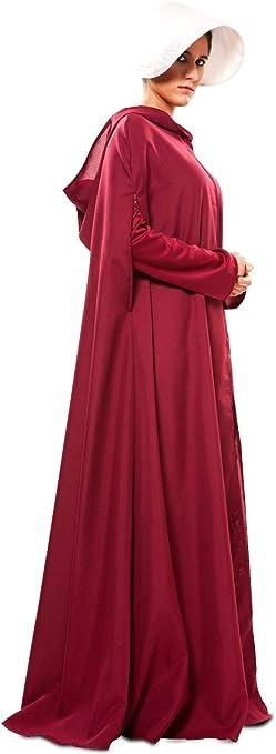 Disfraz de El Cuento de la Criada Capa para Mujer: Amazon.es ...