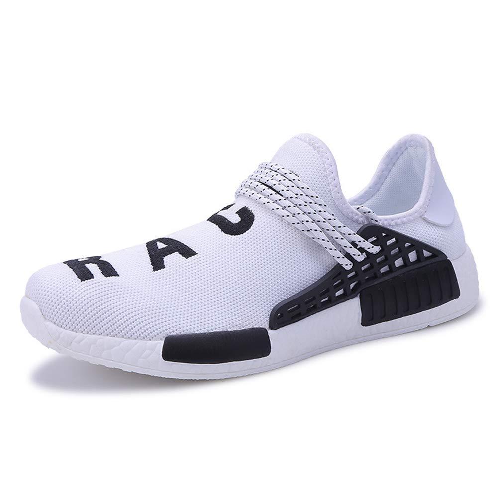 Calzado Casual de Mujer, otoño 2018 El Nuevo Gran tamaño Tendencia Zapatillas Parejas Masculinas y Femeninas Que vuelan Zapatos Deportivos Tejidos: ...