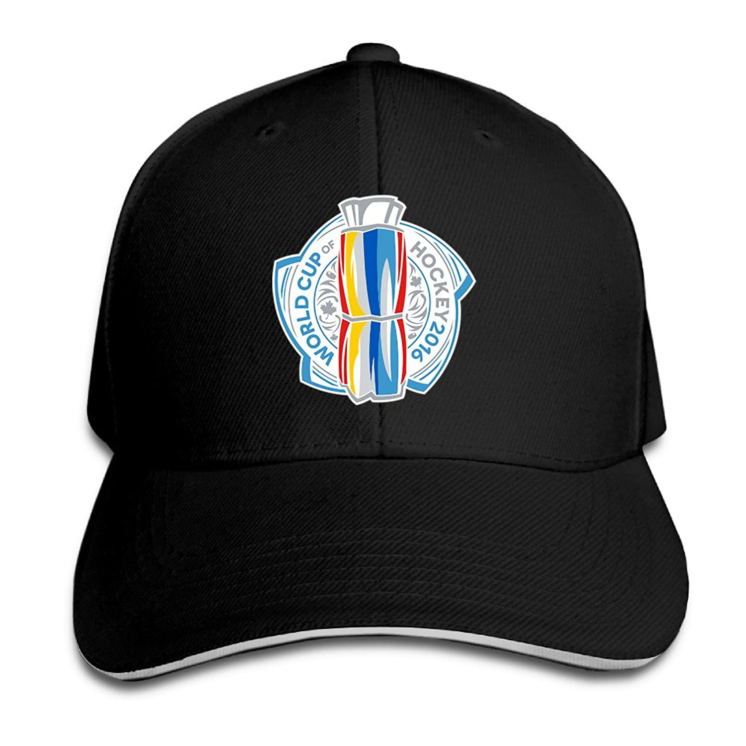 Iruds 2016 World Cup Of Hockey Logo Outdoor Sandwich Peaked Cap&Hat For Unisex