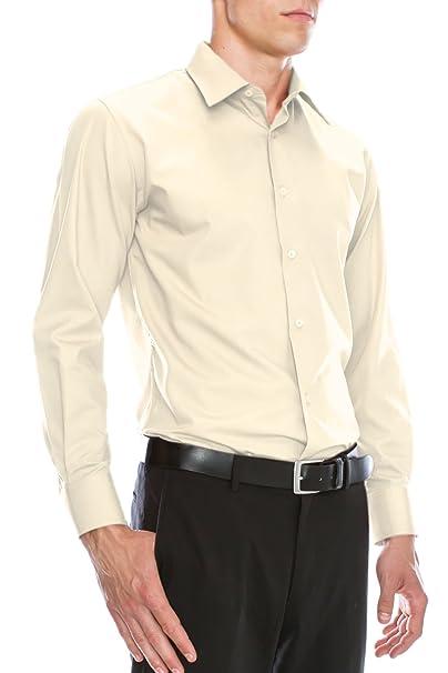 Amazon.com: JC DISTRO - Camisa de vestir para hombre con ...