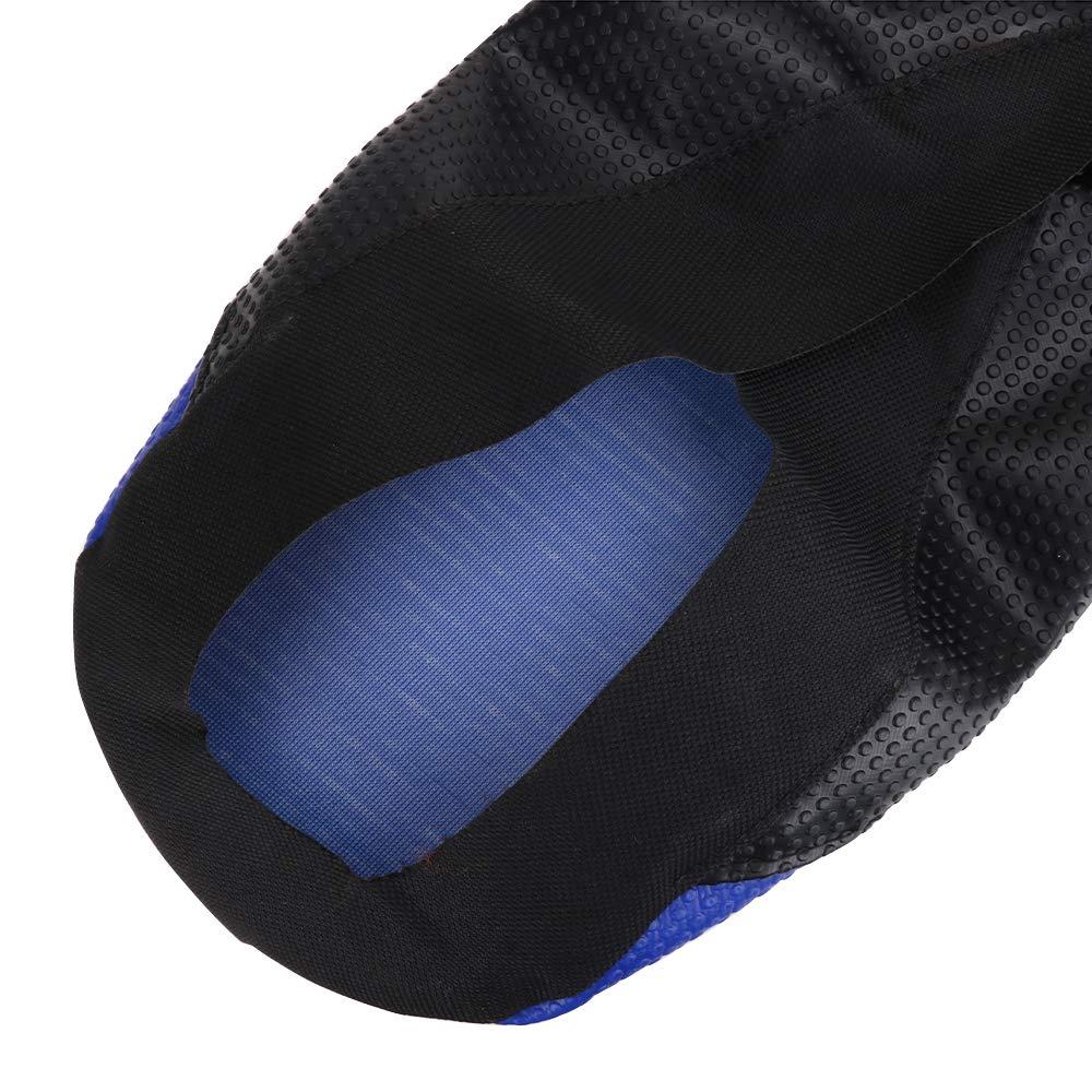 Las Fundas de los Asientos de la Motocicleta Suave de la Pinza para Yamaha YZ250F YZF250 2010 11 12 13 Azul//Negro