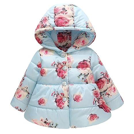 3 Yrs Baby Toddler Girls Parka Jacket Coat Pink 12 Months