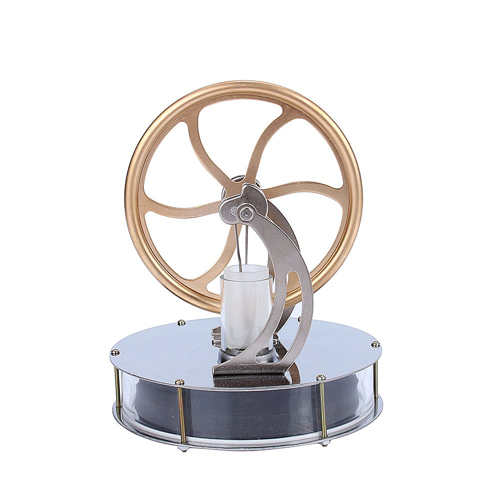 Low Temperature Stirling Engine Motor Steam Heat Education Model Toy Kits Yosoo