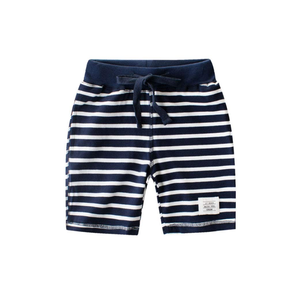 Toddler Boys 3-Pack Classic Knit Terry Shorts Cotton Sports Casual Shorts