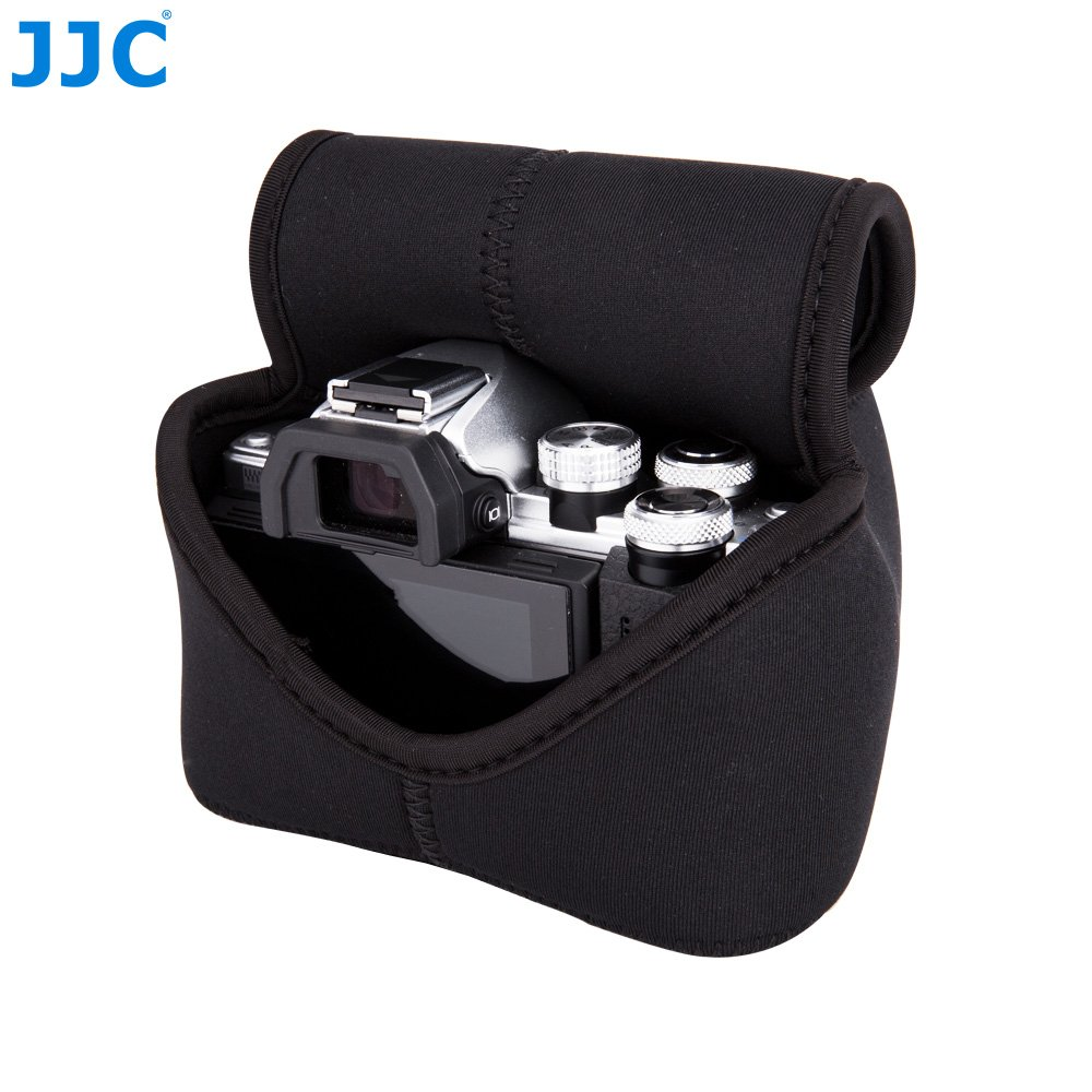 JJC Funda de Neopreno Ultra Ligera para C/ámara Fujifilm X-T10//X-M1//X-A2//X-A3 Olympus E-M10II//E-M5II Canon EOS M5//M50