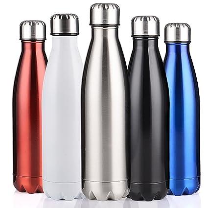 Doble pared termo 350 ml/500 ml/750 ml sin BPA deporte Acero ...