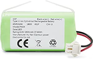 eufy RoboVac Replacement Battery Pack, Compatible with RoboVac 11S, 11S MAX, 15T, 30, 30C MAX, 15C, 15C MAX, 12, 35C, 11 Accessory