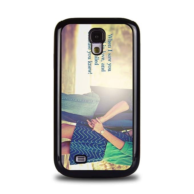 Dulces Parejas románticas diseño arte Samsung Galaxy S4 ...