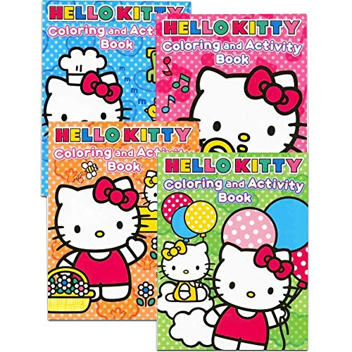 Hello Kitty Coloring Books (Hello Kitty Coloring Books Bundle (Set of)