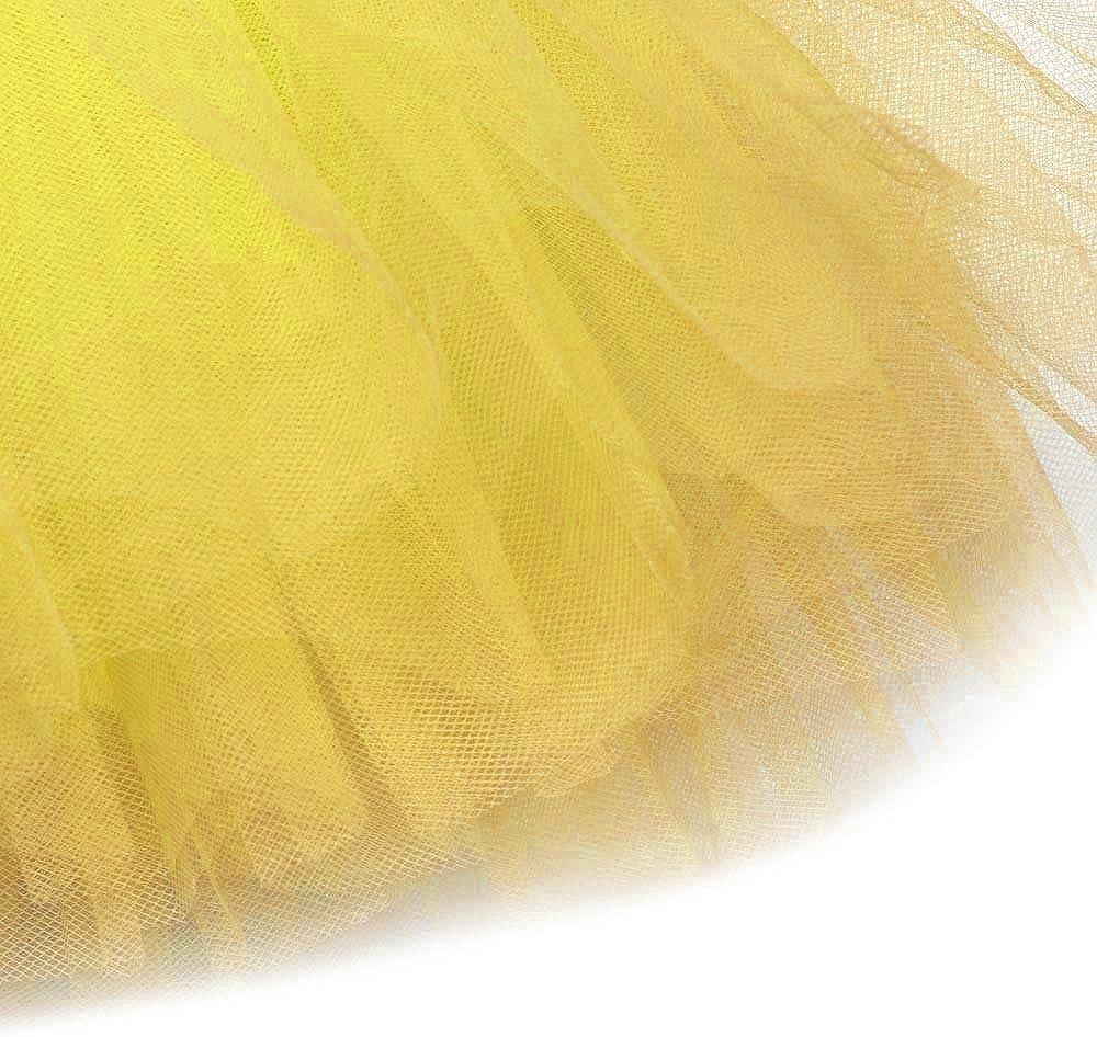 VJGOAL Moda Casual de Mujer elástica Vestido de Tul 5 Capas de ...