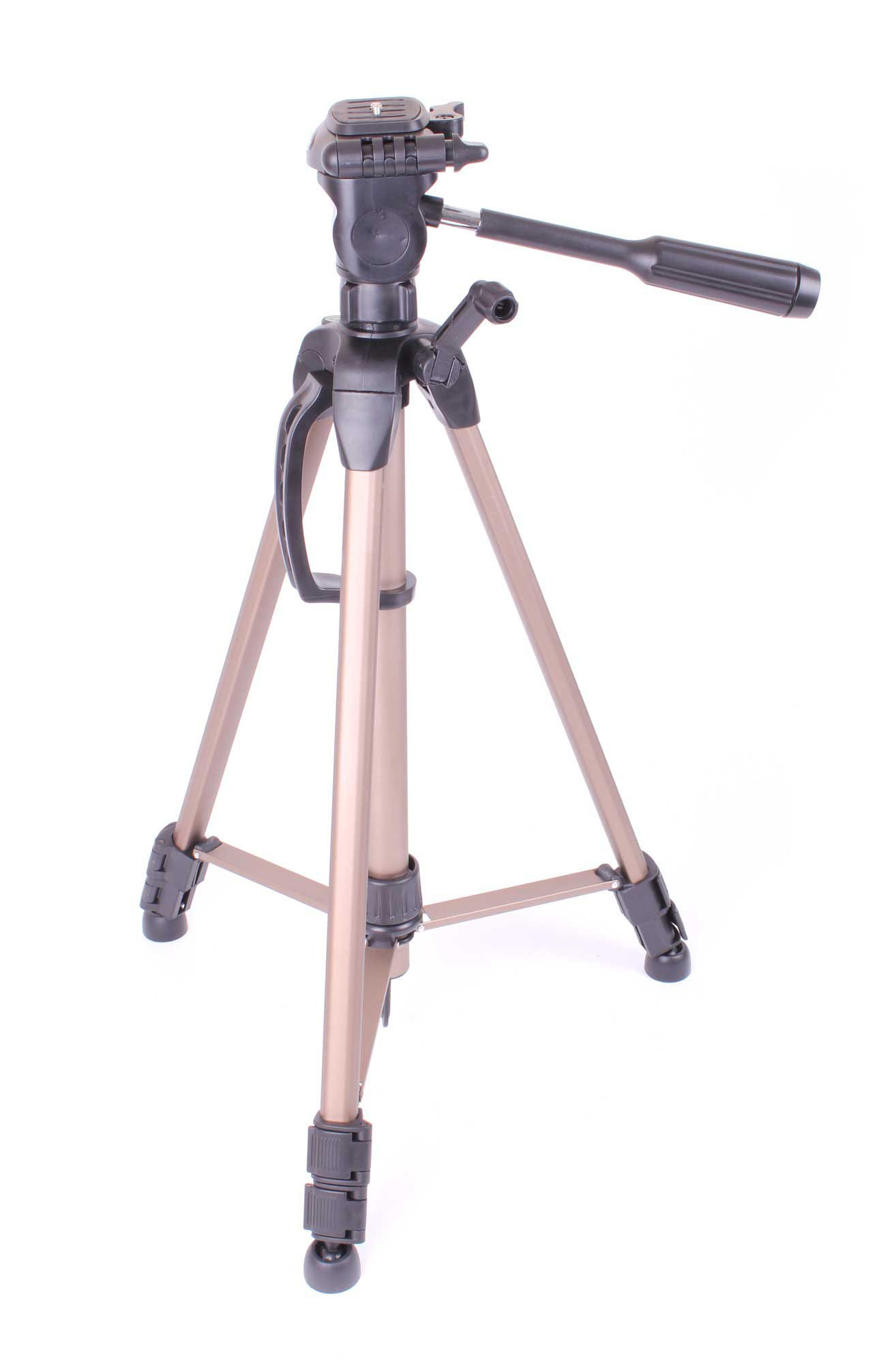 High Quality Lightweight And Adjustable Camcorder Tripod For Sony DSC-WX300 18.2MP Digital Camera w/ 20x Zoom & WiFi,