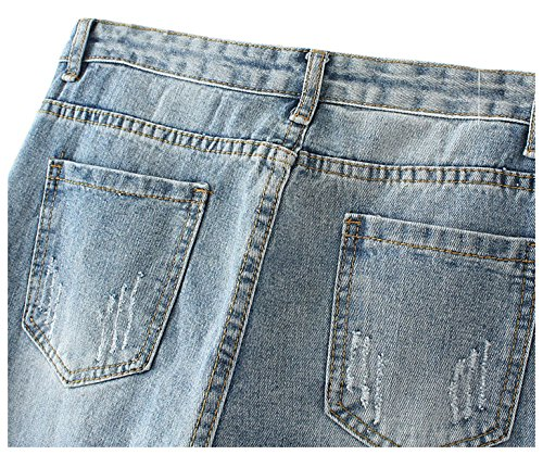 para mujer Vaquero Vaqueros Azul JeansForest FTfqBwF