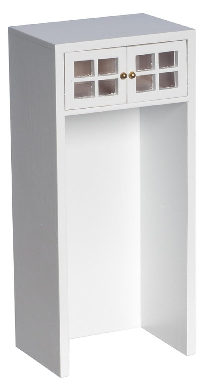 Amazon.es: Muebles de Cocina Miniatura Casa de Muñecas Blanco ...