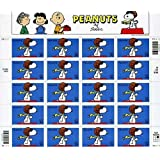Snoopy Peanuts Sheet of Twenty 34 Cent Stamps Scott 3507 By USPS