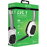 PDP Xbox One LVL 1 Chat Gaming Headset 048-040-NA-WCAM, White Camo
