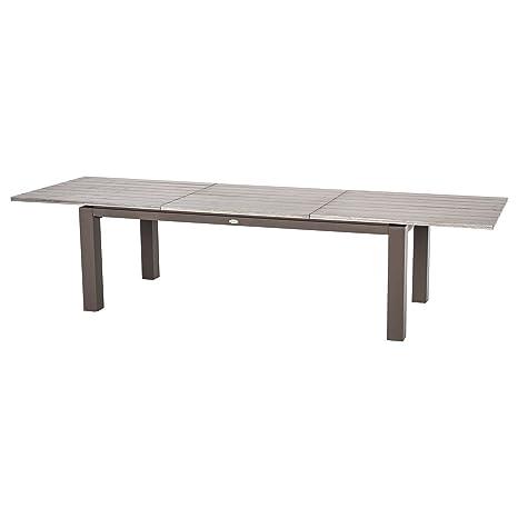 Table de Jardin Extensible 10 Personnes Héraklion - L. 220 ...