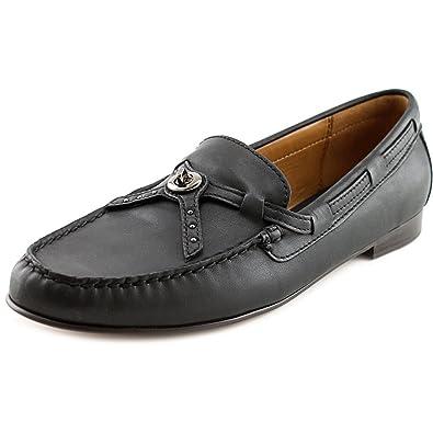 Coach Women's Kara Loafer Black Shoes ...
