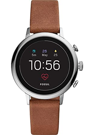 Fossil Q Venture HR Reloj Inteligente Plata GPS (satélite): Amazon.es: Electrónica