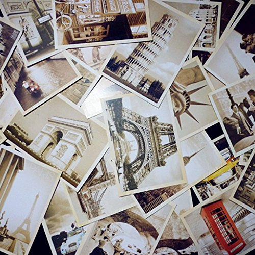 DreamHigh Collectable Vintage Postcards Bulk Pack-128 pcs