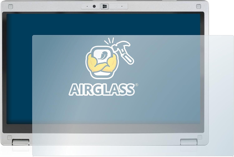 AirGlass extrem Kratzfest Ultra-transparent Anti-Fingerprint BROTECT Panzerglas Schutzfolie kompatibel mit Panasonic Toughbook CF-MX4