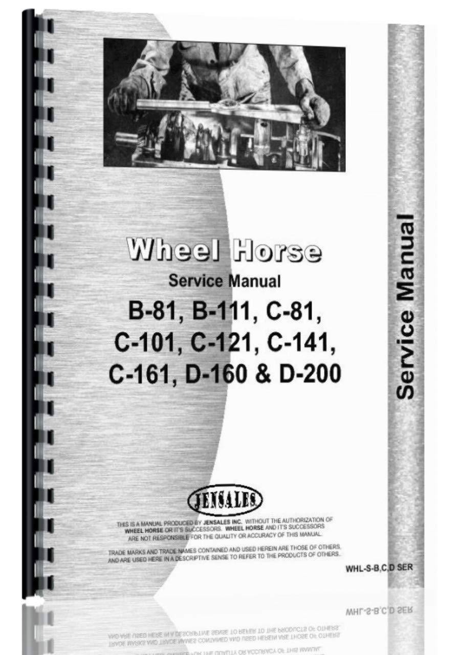 Wheel Horse B-81 Lawn & Garden Tractor Service Manual: Wheel Horse:  Amazon.com: Books