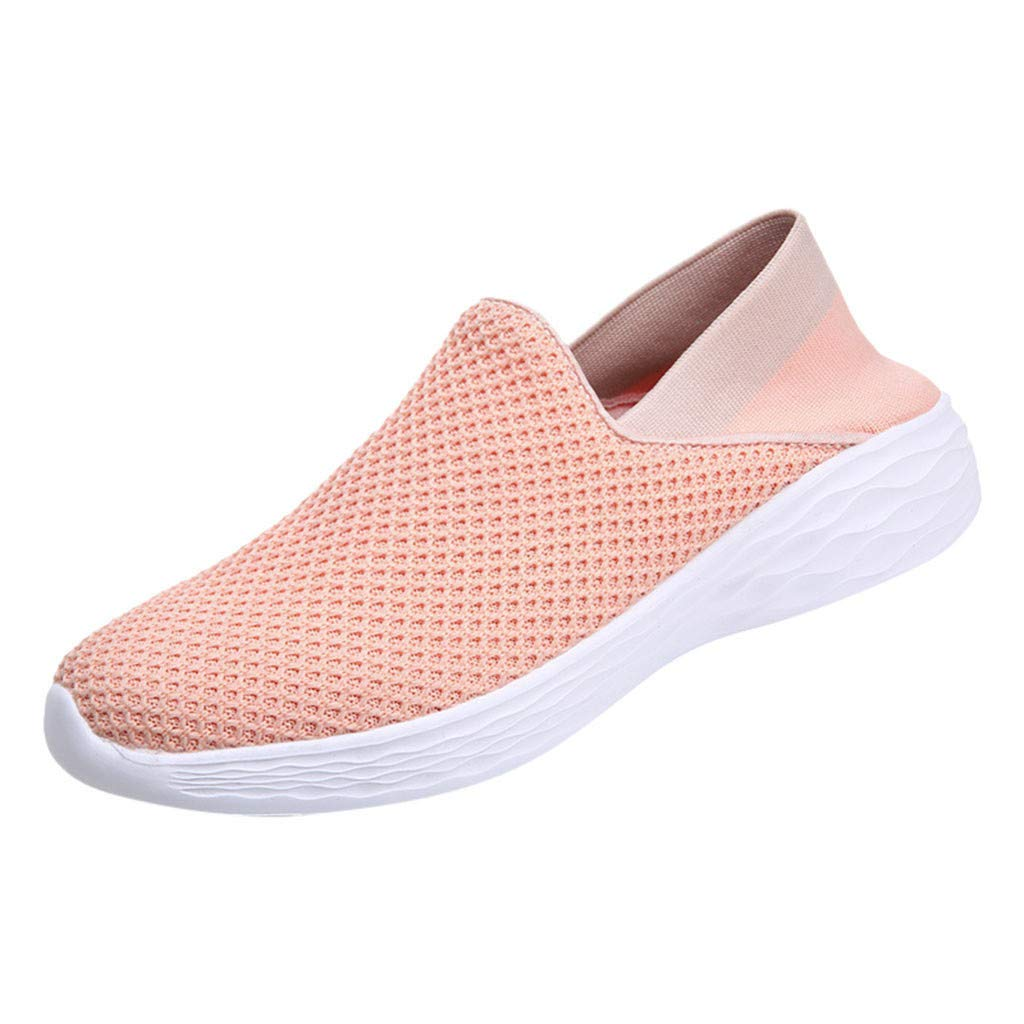 Mysky Fashion Women Brief Patchwork Wild Outdoor Casual Shoes Ladies Breathable Comfortable Loafers