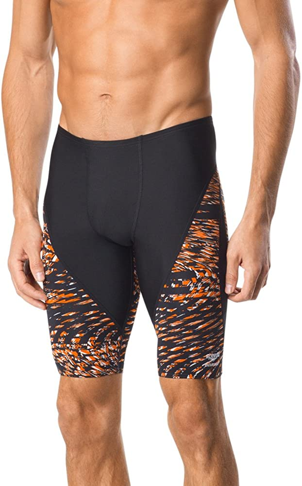 Speedo Mens Swimsuit Jammer Endurance+ Flow Force - Manufacturer Discontinued