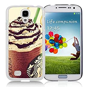 Special Custom Samsung Galaxy S4 Case Starbucks White Personalized Picture Samsung Galaxy S4 i9500 Phone Case