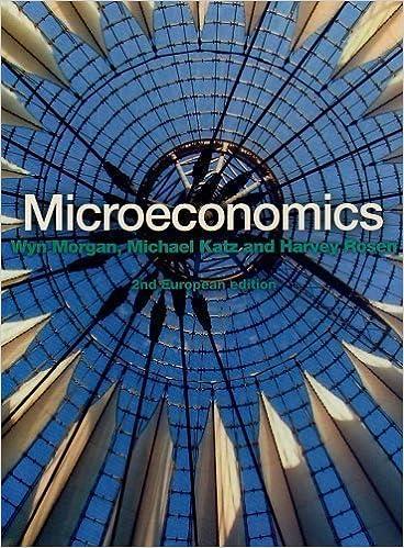 Microeconomics 2nd Second Edition By Morgan Wyn Katz
