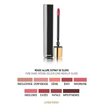 Amazon.com: Chanel Rouge Allure Extrait de brillo de color y ...
