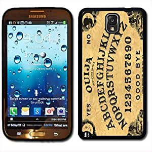 Samsung Galaxy Note 3 Black Rubber Silicone Case - Ouija Board Game Evil Talking Board Spirits