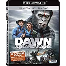 Dawn Of The Planet Of The Apes (4K UHD + Blu-Ray) (Hong Kong Version / Chinese subtitled) 猿人爭霸戰: 猩凶崛起