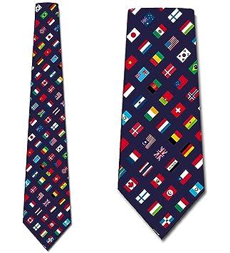 Corbata De Los Hombres Corbata,Corbatas De La Bandera Corbata De ...