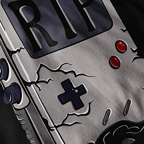 Boy Game Posteriore Vecchio Felpa Nero Con S Giallo Wellcoda 2xl Cappuccio Donne zwEAq5q
