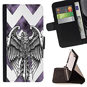 Dragon Case - FOR Samsung Galaxy S5 Mini, SM-G800 - I am handsome - Caja de la carpeta del caso en folio de cuero del tirš®n de la cubierta protectora Shell